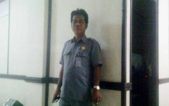 Wakil Ketua II DPRD Barito Timur, Raran. BORNEONEWS/AMAR ISWANI