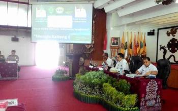 Rapat Membahas HKSN di Palangka Raya. BORNEONEWS/TESTI