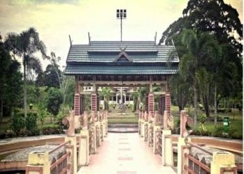 Pangkalan Bun Park: Salah satu sudut Kota Pangkalan Bun yang sering disalahgunakan untuk lakukan perbuatan tak senonoh.