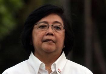 Menteri Lingkungan Hidup dan Kehutanan Siti Nurbaya BORNEONEWS/DOK