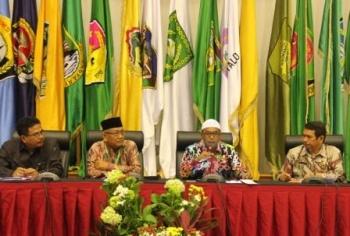 JAdi PEMBICARA: Wagub Kalteng Habib Said Ismail ditunjuk sebagai narasumber dalam Rakornas FKUB di Kemendagri Jakarta, Kamis. Ia bersandingan dengan WagubJabar, Dedy Mizwar. borneonews/rizikin