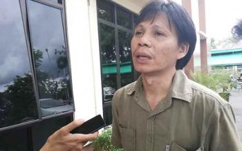 Direktur Wahana Lingkungan Hidup Kalimantan Tengah, Arie Rompas. BORNEONEWS/RONI SAHALA