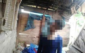 Siswa SMP gantung diri di rumah kosong. BORNEONEWS/URIUTU