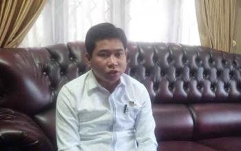 Ketua DPRD Kotim, Jhon Krisli. BORNEONEWS/M. RIFQI
