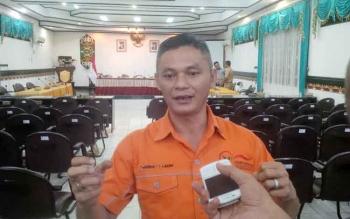 Kepala Ombudsman Republik Indonesia Perwakilan Kalimantan Tengah, Shoseng T.T Asang. BORNEONEWS/RAFIUDIN