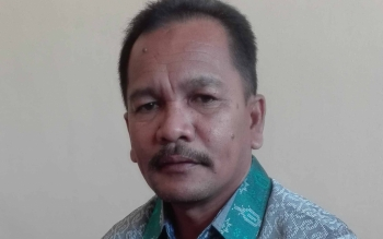 Ahmad Fauliansyah, Kepala Dinsosnaker Kota Palangka Raya. BORNEONEWS/TESTI PRISCILLA