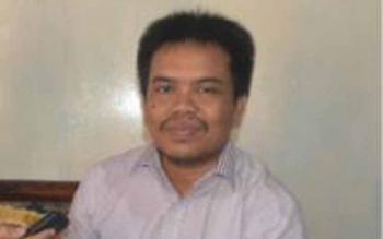Komisioner KPU Barito Selatan, Gazalirahman. BORNEONEWS/URIUTU DJAPER