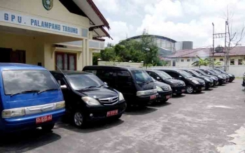 Puluhan mobil dinas milik Pemkot Palangka Raya akan dilelang terbuka. BORNEONEWS/ROKIM