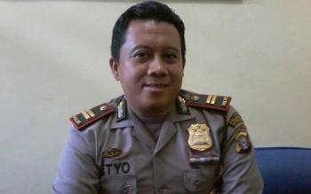 Kapolsek Katingan Hilir, Ipda Setyo Sidik Pramono. BORNEONEWS/ABDUL GOFUR