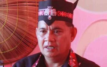 kepala Dinas Koperasi Perindustrian dan Perdagangan (Diskoperindag) Kabupaten Gunung Mas, Edwin Yustian. BORNEONEWS/EPRA SENTOSA