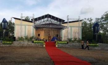 Rangkaian kegiatan peringatan HUT ke-57 Kabupaten Kotawaringin Barat Tahun 2016, seperti tahun-tahun sebelumnya, juga ditutup dengan kegiatan Kobar Expo, 17-24 Oktober 2016. BORNEONEWS/RADEN ARIYO.