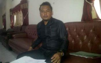 Anggota DPRD Barito Timur, Hairi. BORNEONEWS/AMAR ISWANI