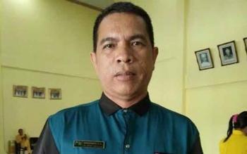Direktur PDAM Tirta Arut, Kotawaringin Barat, Sapriansyah. BORNEONEWS/FAHRUDDIN FITRIYA