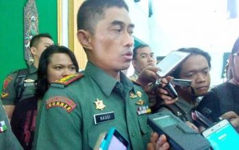 Danrem 102 Panju Panjung, Kolonel Arm M Naudi Nurdika. BORNEONEWS/BUDI YULIANTO