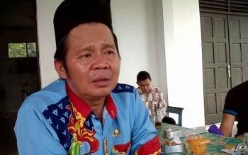 Kepala Dinas Pertambangan dan Energi Kalimantan Tengah Ermal Subhan. BORNEONEWS/BUDI YULIANTO