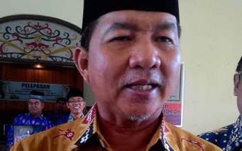 Wali Kota Palangka Raya, Riban Satia. BORNEONEWS/TESTI PRISCILLA