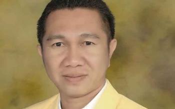 Edy Alrusnadi, SE yang terpilih menjadi Ketua DPD Golkar Sukamara.