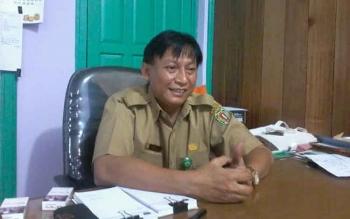 Kepala Dinas Kesehatan Katingan, Robertus Pamuriyanto. BORNEONEWS/ABDUL GOFUR/DOK