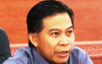 Ketua DPRD Kapuas, Algrin Gasan. BORNEONEWS/DJEMMY NAPOLEON