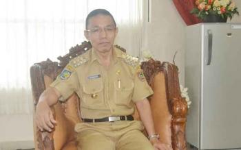 Penjabat Bupati Barito Selatan H Mugeni. BORNEONEWS/URIUTU