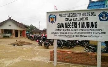 SMAN 1 Murung yang berada di Kota Puruk Cahu.