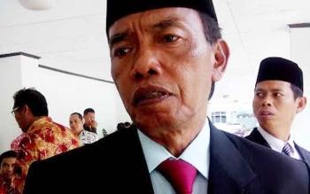 Bupati Kotawaringin Barat, Bambang Purwanto. BORNEONEWS/M. MUCHLAS ROZIKIN