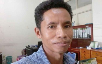 Sekretaris DPD PAN Kabupaten Katingan M Sarana S Litang.BORNEONEWS/ABDUL GOFUR