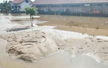 Banjir Banama Tingang Berangsur Surut