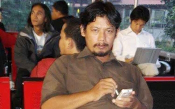 Ketua Panwaslu Barito Selatan, Nur Chambiyah. BORNEONEWS/URIUTU DJAPER