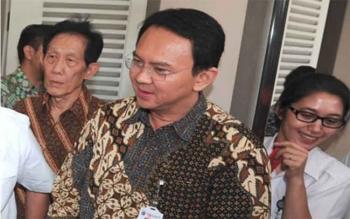 Gubernur (nonaktif) DKI Jakarta, Basuki Tjahaja Purnama, Senin (7/11/2016), memenuhi panggilan penyidik Polri. Pria yang karib disapa Ahok itu, menjalani pemeriksaan terkait kasus penistaan agama. BORNEONEWS/TERBIT