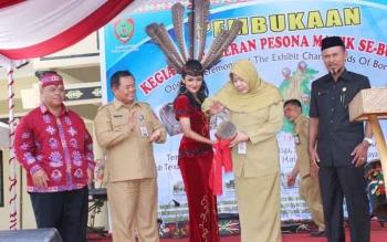 Pembukaan kegiatan 'Pameran Pesona Manik se-Borneo. BORNEONEWS/ROZIKIN