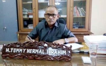 Ketua DPRD Lamandau, H. Tommy Hermal Ibrahim. BORNEONEWS/HENDI NURFALAH
