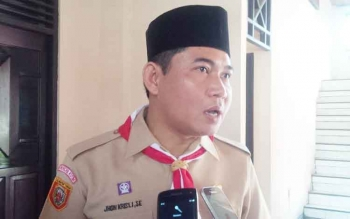 Ketua DPRD Kotawaringin Timur, Jhon Krisli. BORNEONEWS/M RIFQI