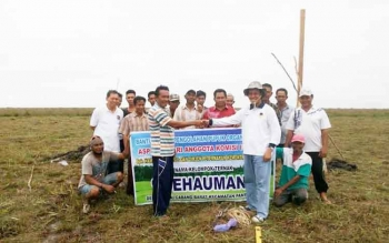Hamdhani Pantau Program UPPO di Sukamara