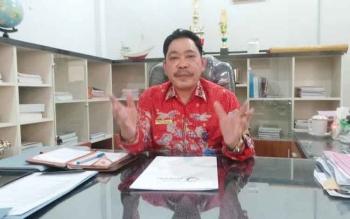 Kadis Perikanan dan Kelautan (DKP) Kotawaringin Barat, Rusliansyah. BORNEONEWS/DOK