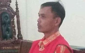 Buronan Pemilik Sajam Diputus 7 Bulan Penjara