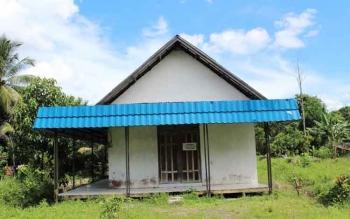 Lahan gereja yang disengketakan di Kelurahan Bereng, Kecamatan Kahayan Hilir, Kabupaten Pulang Pisau, salah satu kasus yang dijembatani oleh Pemerintah kecamatan Kahayan Hilir. BORNEONEWS/JAMES DONNY