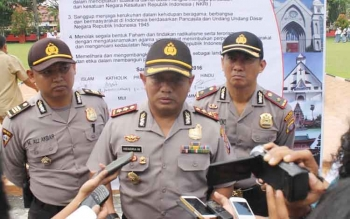 Kapolres Kotawaringin Timur, AKBP Hendra Wirawan. BORNEONEWS/RAFIUDIN