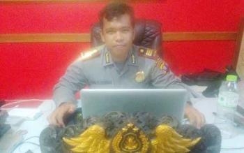 Kasat Reskrim Polres Palangka Raya, AKP Erwin T H Situmorang. BORNEONEWS/BUDI YULIANTO