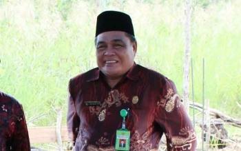 Kepala Kemenag Pulang Pisau Abdul Khalik. BORNEONEWS/JAMES DONNY