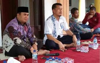 Ahmadi Riansyah, calon wakil bupati Kotawaringin Barat dari pasangan Nurani. BORNEONEWS/KOKO SULISTYO