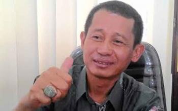 Anggota Komisi B DPRD Kota Palangka Raya, Sugianor. BORNEONEWS/TESTI PRISCILLA