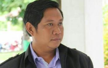 Sekretaris Panitia Seminar dan Deklarasi Generasi Emas Anti Narkoba Kabupaten Katingan, Surya Melki. BORNEONEWS/ISTIMEWA