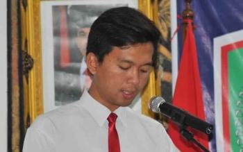 Kasat Res Narkoba AKP Yonals Nata Putra. BORNEONEWS/JAMES DONNY