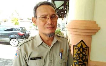 Kepala BPBD Pulang Pisau Salahudin. BORNEONEWS/JAMES DONNY