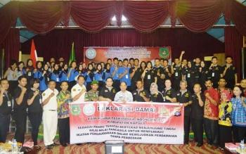 Musyawarah Kabupaten Purna Paskibraka Indonesia (PPI) ke I masa bakti 2016-2020 dibuka secara langsung oleh Bupati Kapuas Ir Ben Brahim S Bahat MM MT, jum'at (25/11) BORNEONEWS/DJEMMY