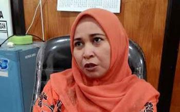 Mukarramah, anggota Komisi C DPRD Kota Palangka Raya. BORNEONEWS/TESTI PRISCILLA