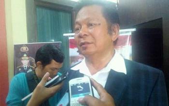 Sekretaris Komisi Penanggulangan AIDS Kalimatan Tengah William Katopo. BORNEONEWS/BUDI YULIANTO