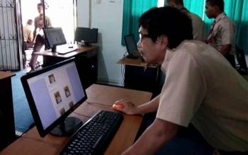 Wah, SMAN 5 Pilih Pengurus OSIS dengan Sistem Komputerisasi