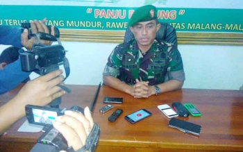 Danrem 102/Pjg Kolonel Kolonel Arm M Naudi Nurdika. BORNEONEWS/BUDI YULIANTO